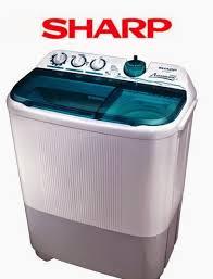harga mesin cuci sharp