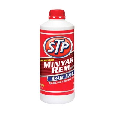 84 - stp super heavy duty brake fluid dot-3 neutral merah 1000 ml