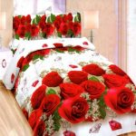 Bonita Sprei Queen 3D Motif Royal Rose