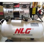 NLG Kompresor Angin Oil-less Bebas Oli 550Watt