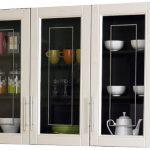 Olympic Kitchen Set Lemari Atas 3 Pintu Kaca Tetris Series