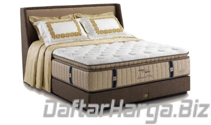 harga spring bed king koil